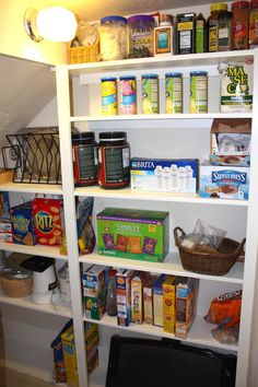 under the stairs pantry This Old Church House: Pantry Perfection