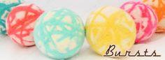 Bursts Balls by Nurtured Sew Naturally Wool Dryer Balls, Easter Eggs, Sewing, Nature, Shop, Fabric, Handmade, Tejido, Dressmaking