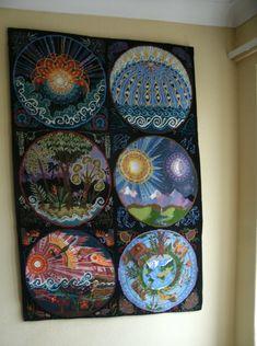 Ehrman days of creation needlepoint