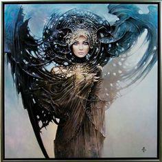Mystic Lady by Karol Bak.