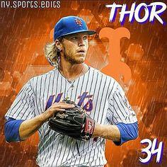 #34 Noah Syndergaard #Thor #MetsTalk