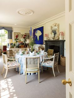 Inside the Home of the Dowager Duchess of Devonshire   Sotheby's