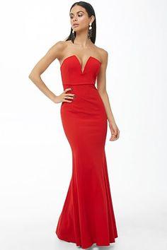 1dc6f2bc72 Strapless Mermaid Gown. Military Ball DressesBodycon ...