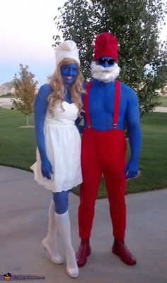 The Smurfs - 2016 Halloween Costume Contest