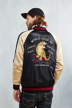 Stussy Satin Souvenir Jacket