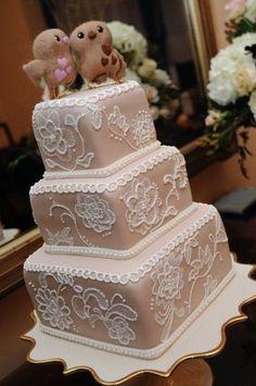 Weddbook / Torta de la pasta de azúcar / Wedding Cake