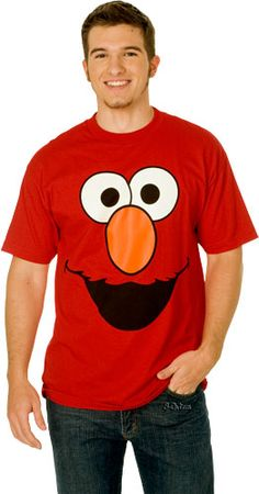 Elmo shirt for Daddy...or Mommy or whoever. I think thy have them at Target