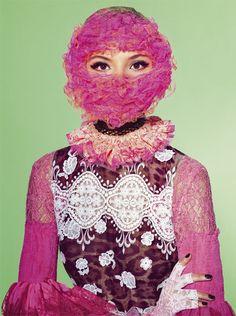 Richard Burbage for Vogue Italia Beauty