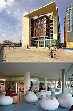 Amsterdam Oba - Central Public Library  www.livingamsterdam.com