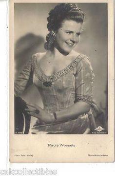 RPPC-Austrian Actress-Paula Wessely