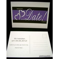 """Save the Date """"Design Line"""" lila Save The Date Designs, Line, Dating, Cards Against Humanity, Paper Mill, Card Wedding, Getting Married, Invitations, Quotes"""