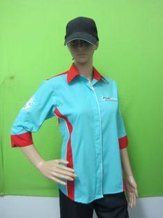 Uniforms For Girl Uniforms Customade Fadzil Aripin 0103425700 Corporate Shirts, Corporate Uniforms, The Office Shirts, Work Shirts, Trending On Pinterest, Uniform Design, Shirt Embroidery, Girls Uniforms, Shirt Mockup