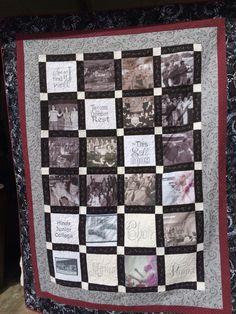 Memory quilt