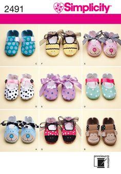 Free Baby Shoe Sewing Patterns | eBay