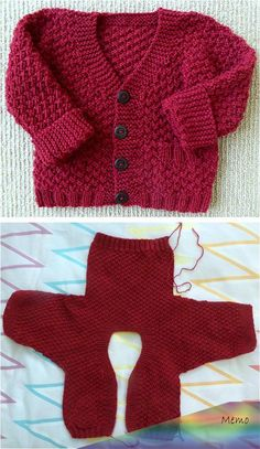 Checco's Dream This Knit pattern / tutorial is available for free. Boys Knitting Patterns Free, Baby Cardigan Knitting Pattern Free, Baby Sweater Patterns, Knit Baby Sweaters, Sweater Knitting Patterns, Easy Knitting, Baby Patterns, Knit Patterns, Cardigan Pattern