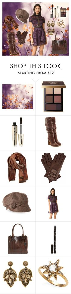 """""""Big"""" by ugh-why-life-why ❤ liked on Polyvore featuring Bobbi Brown Cosmetics, L'Oréal Paris, See by Chloé, MANGO, Gizelle Renee, Betmar, self-portrait, Frye, Smith & Cult and Anzie"""