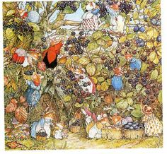 Berry picking/Brambly Hedge Jill Barklem