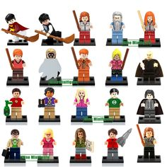 Single Sale  Big Bang Theory Black Crow Harry Potter minifigHermione Ron Voldemort Building Block Toy Compatible with Lego