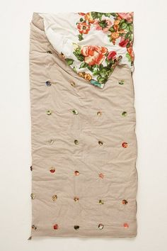 Sleeping bag--Take a Full or Queen Size Comforter fold in half, sew zipper on OR better add on where zipper would be Velcro!! Turn right side out, New Sleeping Designer Bag11