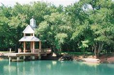 One of the parks in Edmond, Oklahoma