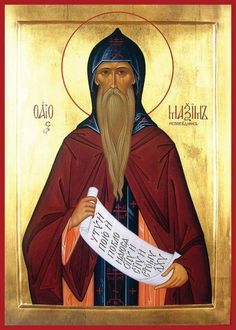 Saint Maximus the Confessor. Philosopher and monastic Theologian, martyr and champion of Chalcedonian Christology against the Monotheletist and Neo-Origenist heretics. An equal to Augustine in the East with regard to orthodox Christian Neo-Platonism. Westminster, Great Man Theory, Becoming A Monk, Four Hundred, Religious Images, Religious Art, Christian Families, Orthodox Christianity, Catholic Saints