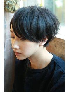 【+~ing  deux】透け感×スタンダードショート【三橋歩】 - 24時間いつでもWEB予約OK!ヘアスタイル10万点以上掲載!お気に入りの髪型、人気のヘアスタイルを探すならKirei Style[キレイスタイル]で。