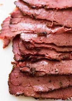 Pastrami Sandwich, Sandwiches, Sausage Recipes, Meat Recipes, Cooking Recipes, Cod Recipes, Carrot Recipes, Jewish Recipes, Cooking Chef