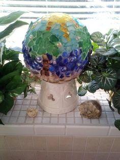 My mosaic bowling ball project