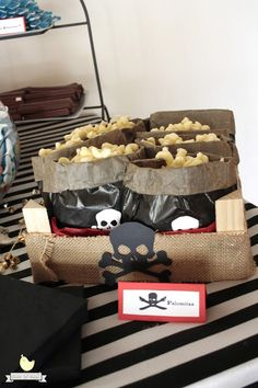 Pirates Candy Bar by Nice & Naïf Pirate Party