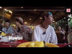 BTS (방탄소년단) — Sing Happy Birthday In Hawaii. Taehyung (김태형) Spills Juice on Jungkook (전정국) - YouTube