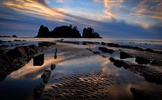 Shi Shi Beach at Sunset by Alvin Kroon on 500px