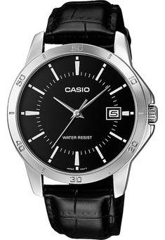 7acb9262332 Relógio Casio MTP-V004L-1AUDF Prata Preto - Marca Casio Relógio Casio