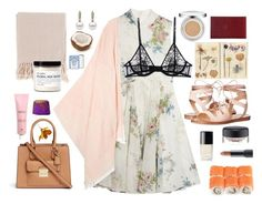 """""""l'été"""" by lowtime ❤ liked on Polyvore featuring Steve Madden, Topshop Unique, Maje, MAC Cosmetics, Bite, Michael Kors, La Perla, Chanel, Surya and Sulwhasoo"""