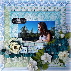 Be Happy **C'est Magnifique October Kit** - Scrapbook.com