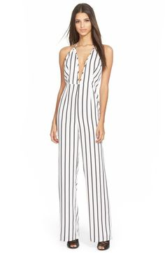 Pin for Later: Wait Until You See What Kendall Changed Into After the Chanel Show  Missguided Stripe Jumpsuit ($84)