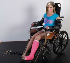 Wheelchair Arm Cast by DevToby