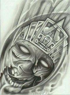 Prison Art Aztec/Mayan
