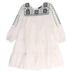 ANTIK BATIK Enfant Sylla embroidered dress