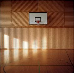 looks like a basketball court wes anderson might have.