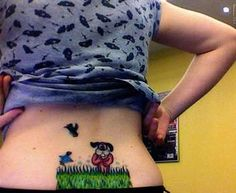 Geek Out on Old School Nintendo Tattoos #tattoos #geek Hahaha omg duck hunt! My brother and I use to play this all the time!