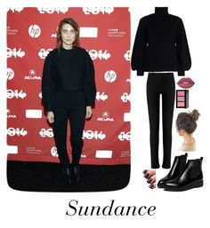 """""""Sundance Festival"""" by gracefully-artistic ❤ liked on Polyvore featuring MARA, Zimmermann, Roland Mouret, WithChic, Bobbi Brown Cosmetics and Lime Crime"""