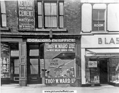 T. W. Ward, Coal Office, London Road