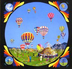 Ballons at the fair
