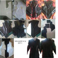 lokis jacket w.i.p part one by sasukeharber on DeviantArt