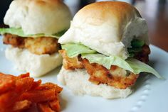 Copy Cat Chick-Fil-A Nuggets in a Slider