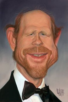 Ron Howard    Artist: Vincent Altamore    website: http://vincentaltamore.blogspot.com/