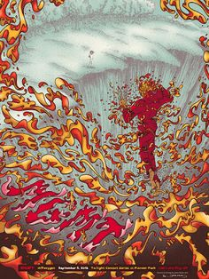 James Flames MGMT Salt Lake City Poster