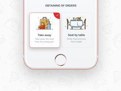 Obtaining of orders - FB. App