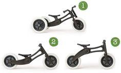 Wishbone Bike 3in1 Laufrad Recycled Edition
