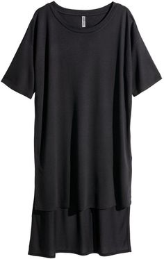 H&M - T-shirt Dress - Dark gray - Ladies - Click link for product details :)